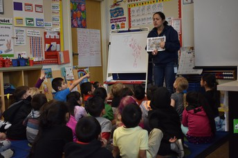 Kindergarten Learns about Compost