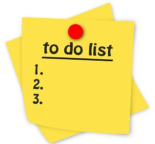 Back to School - To Do List
