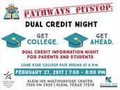 Dual Credit Informational Night
