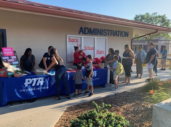 PTA at Back to School Night