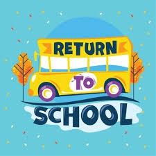 Return to School Additional Information