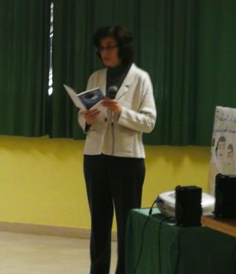 la doc. Elisabetta Cattich introduce l'incontro
