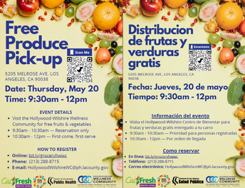 Free Produce 5/20