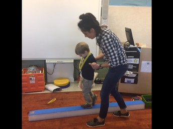 Working on Balance Skills!