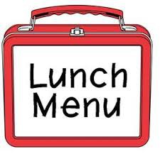Lunch Menu for the next 3 days