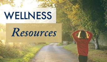 Wellness Resources website