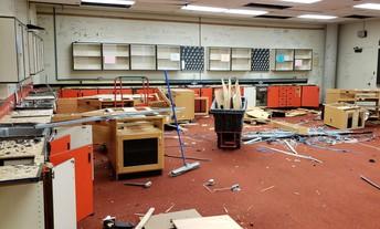High School Science Wing Renovations