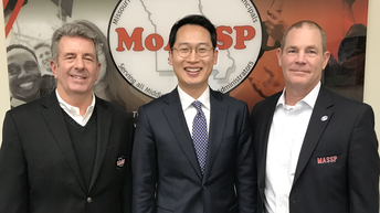 South Korean Official Visits MoASSP