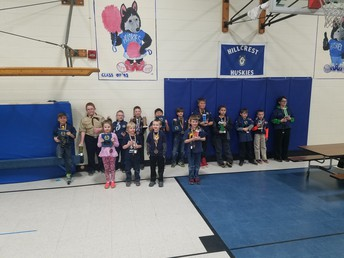 Scouts Pinewood Derby Results