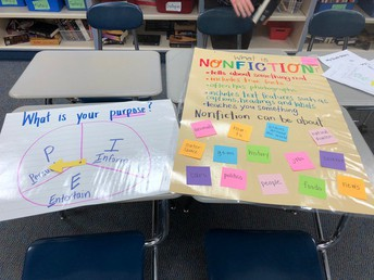 Sample ELA Anchor Charts