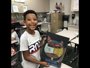 Art Work from 2nd Grade