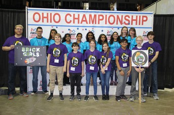 Two FLL teams win awards at state championship