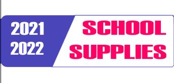 21-22 School Supplies