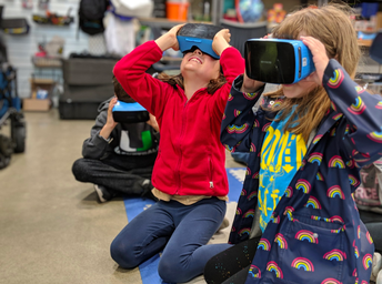 VR Goggles in the MakerSpace