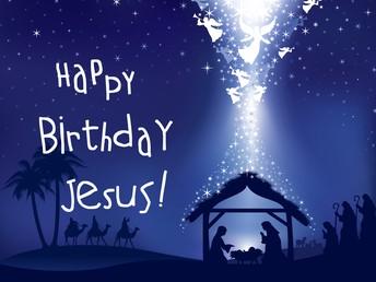 """""""Happy Birthday, Jesus"""" Party!"""