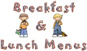 School Lunch and Breakfast Menus