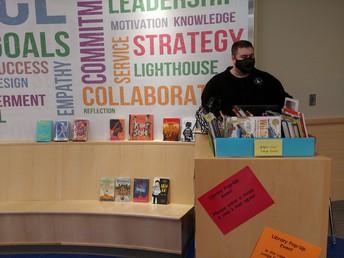 Mr. Keegan has a display of RIMSBA nominees