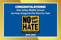 No Place for Hate Update
