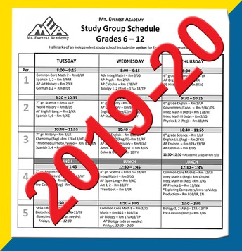 Choosing Classes for 2019-20