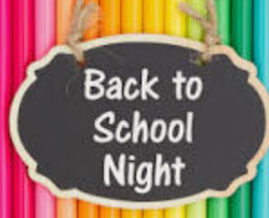 Back to School Night!