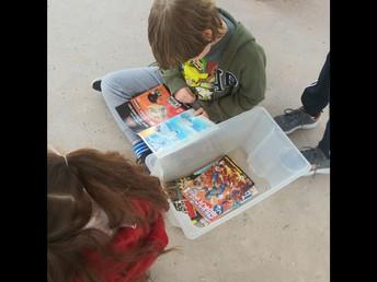 Comic Book Club Day One