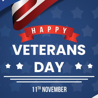 Graphic of Veterans Day