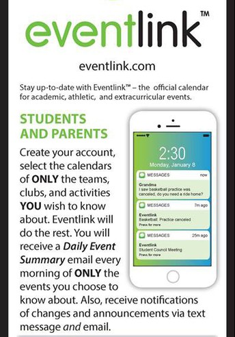 Keep Up To Date On School Events!