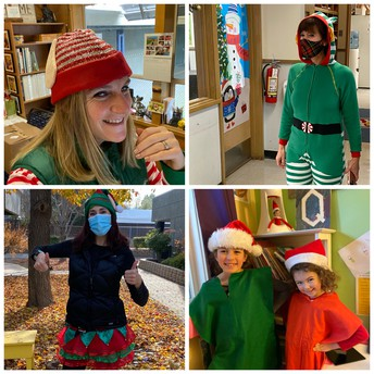 ELF DAY (with some little elves too)