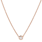 Rose Gold wishing pendant was £36 now £17