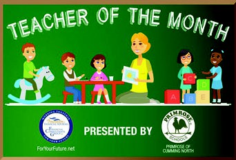 Please vote for Teacher of the Month - January