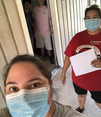H.B. Gonzalez Home Visits