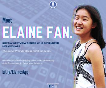 Elaine Fan (WVHS) Develops App