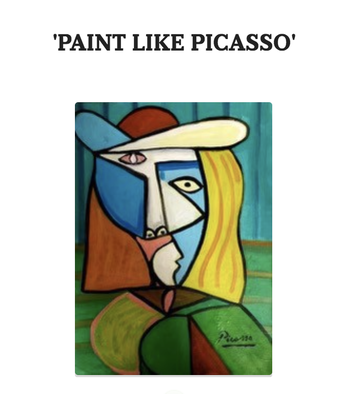 """Paint Like Picasso"""