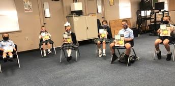 Kindergarten, 1st & 2nd Graders