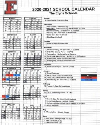 School calendar changes adjust for days off