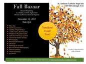 November 11 Fall Bazaar