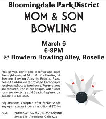 Mom & Son(s) Bowling Event