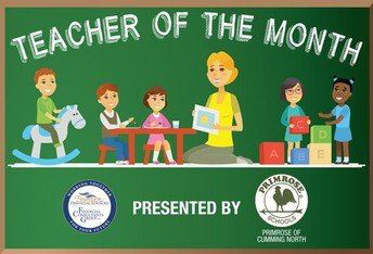 Forsyth County Teacher of the Month