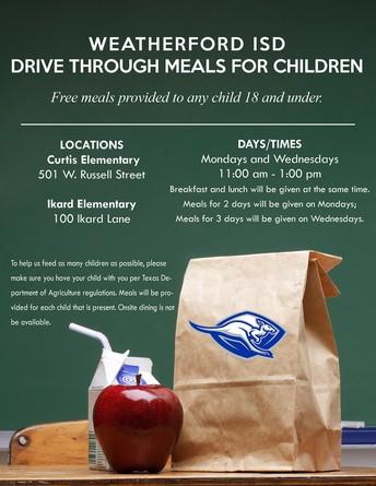 Drive Thru Meals for Kids