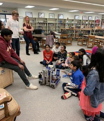 Metea Robotics Visiting Young Robotics