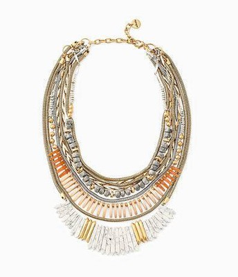 Ezra statement necklace