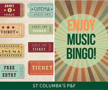 Enjoy Music Bingo!