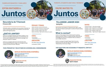 Juntos : Starts this Tuesday 4/6