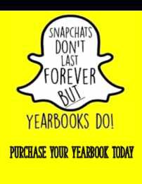 YVHS Yearbook Needs You!