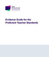 NESA: Evidence Guide for the Proficient Teacher Standards