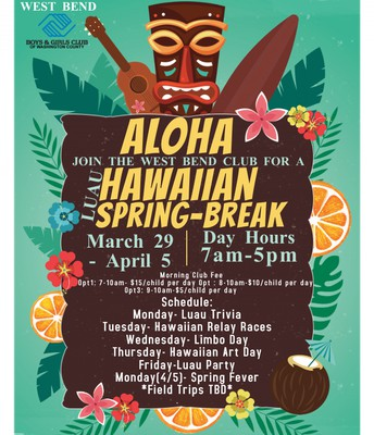 WB Spring Break Flyer