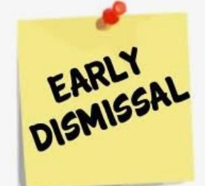 DISMISSAL TIMES FOR FRIDAY, DECEMBER 18
