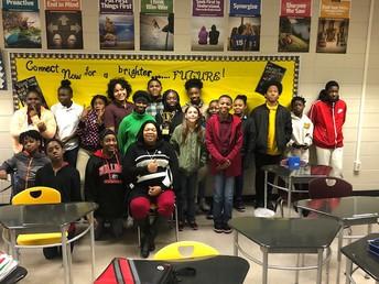 Congratulations to Ms.Jackson's homeroom!