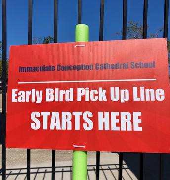 EARLY BIRD DISMISSAL REMINDERS
