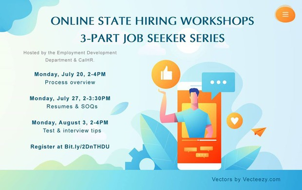 Presenters will discuss the state hiring process, including application details, preparing for assessments, the state interview process, and other tips.